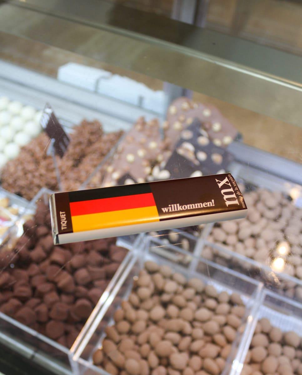 Eintrittskarte, Schokoladenmuseum Barcelona