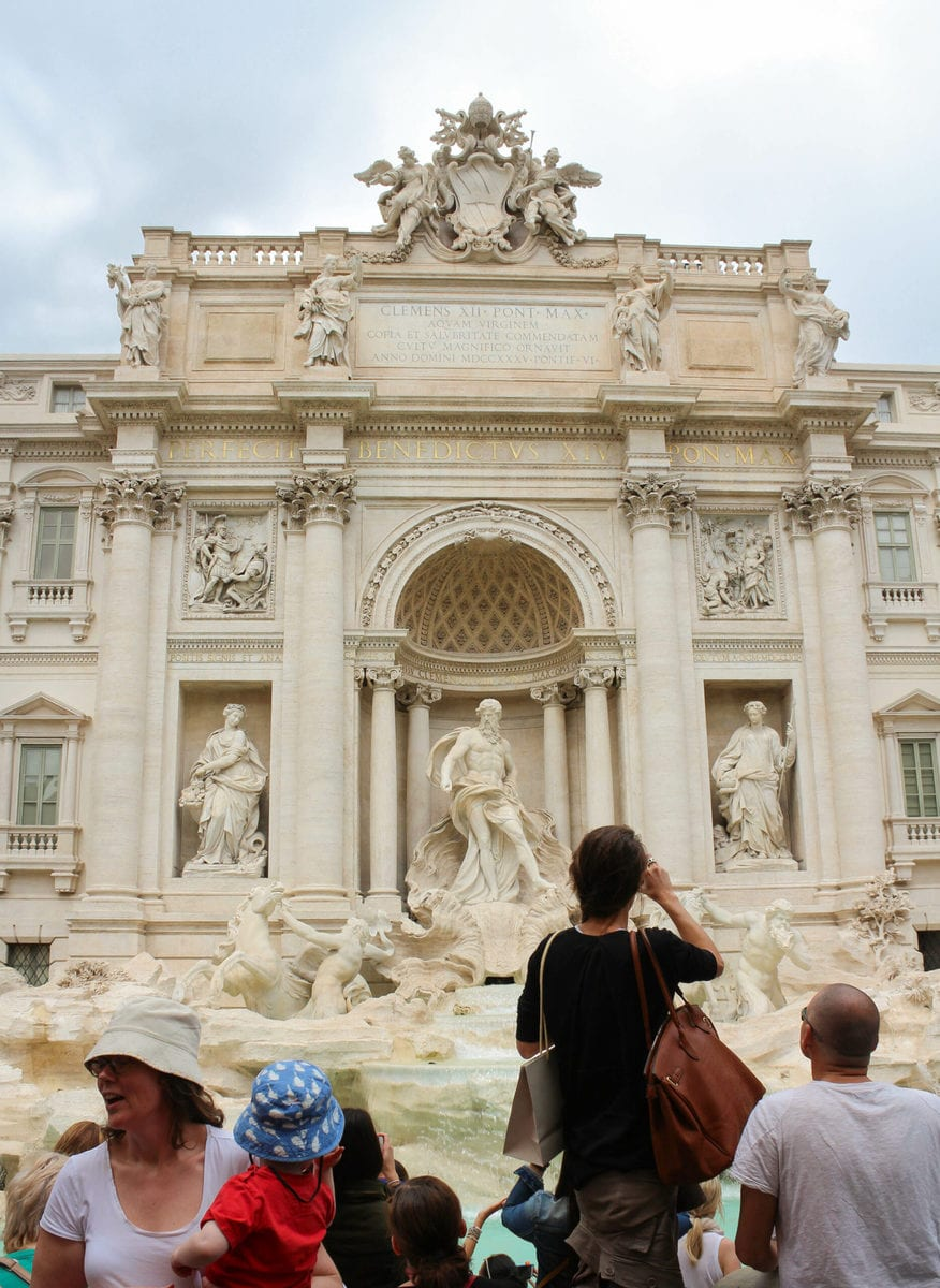 Trevibrunnen Rom