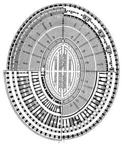 Amphitheatrum Flavium, Rom