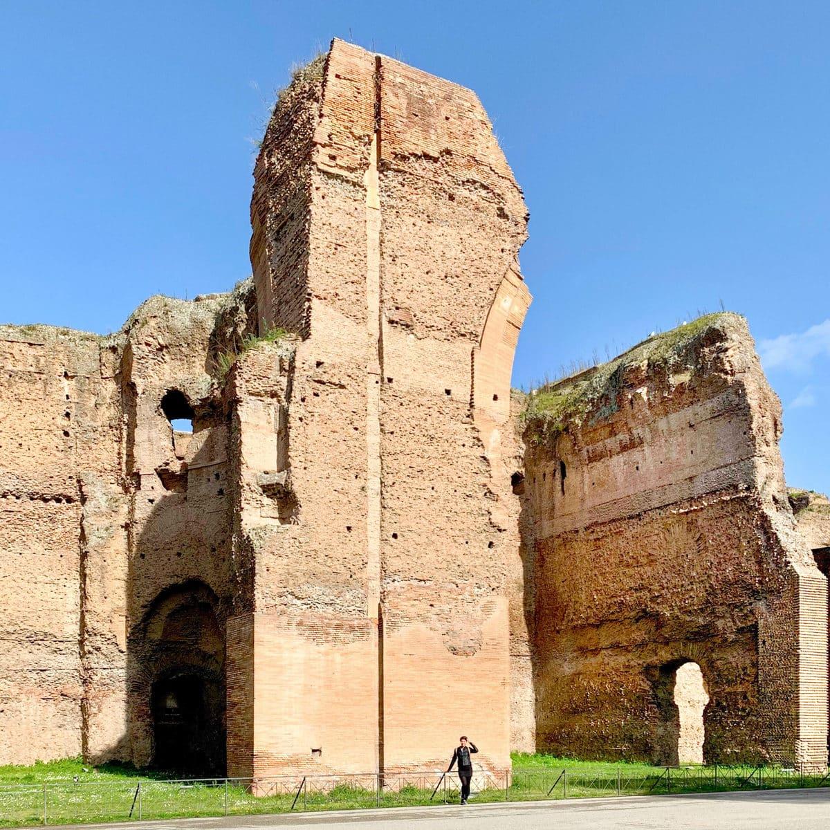 Caracalla Thermen Rom Susi