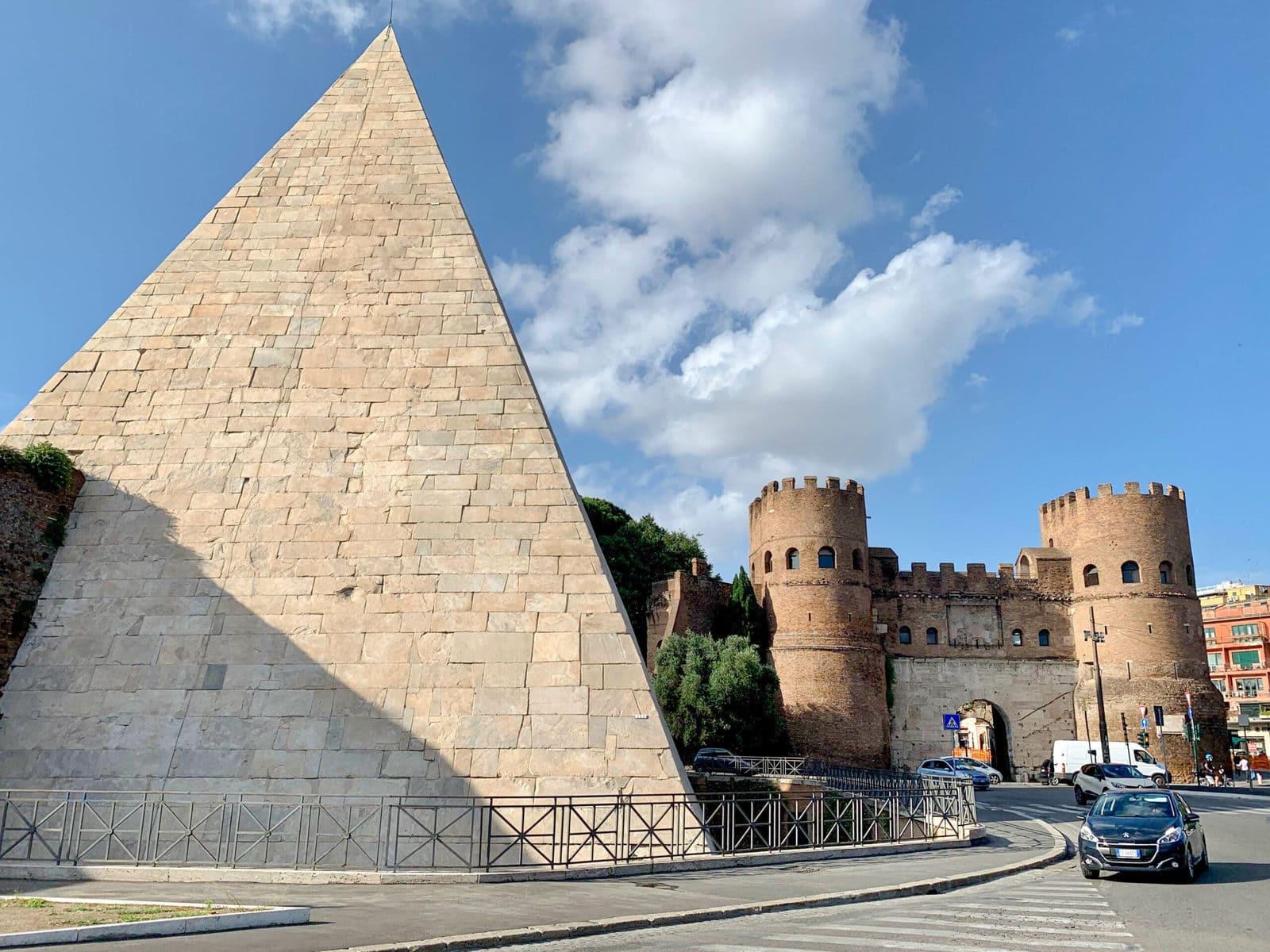 Cestius Pyramide Rom