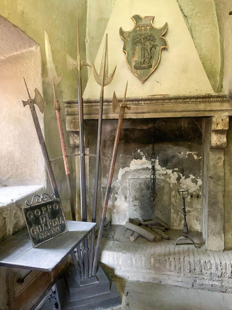 Waffenkammer der Engelsburg in Rom