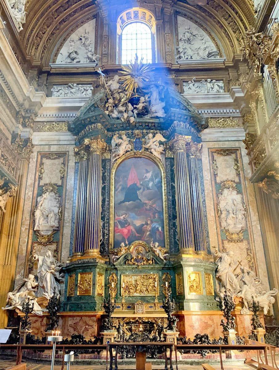 Il Gesù, Kapelle des Heiligen Ignatius von Loyola, Rom