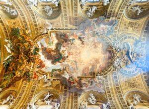 """Il Gesù, """"Triumph des Namens Jesu"""", Giovanni Battista Gaulli (Baciccia)"""