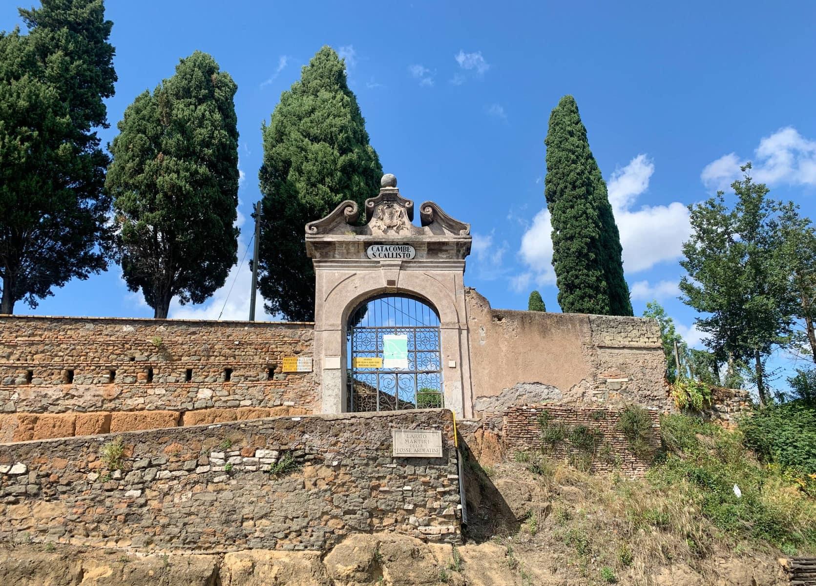 Katakomben des Callisto, Via Appia Antica, Rom