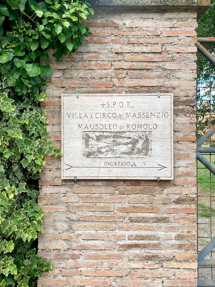 Mausoleo di Romolo, Rom
