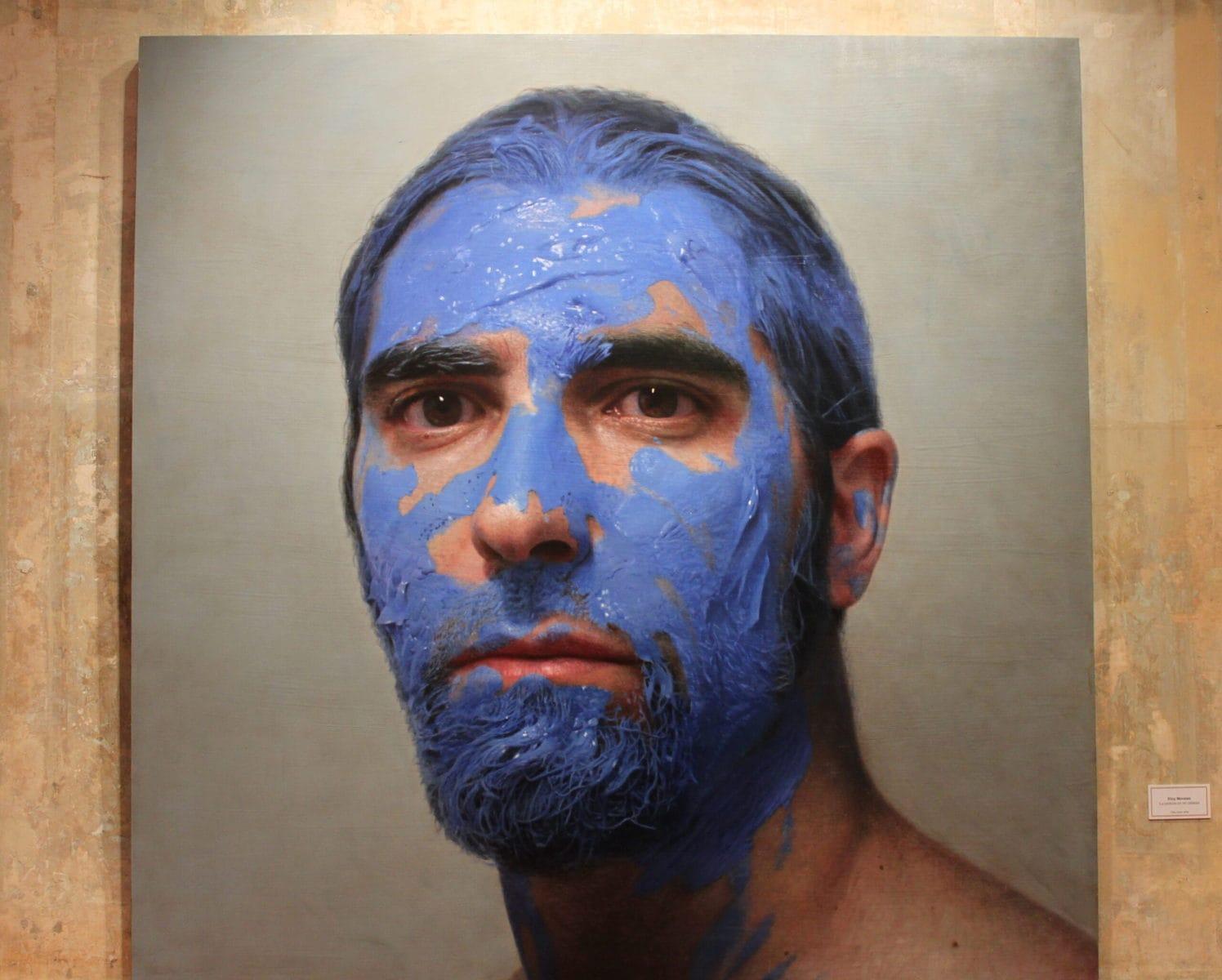 """MEAM, Eloy Morales Ramiro, """"La pintura en mi cabeza"""" (Die Farbe auf meinem Kopf), 2010"""