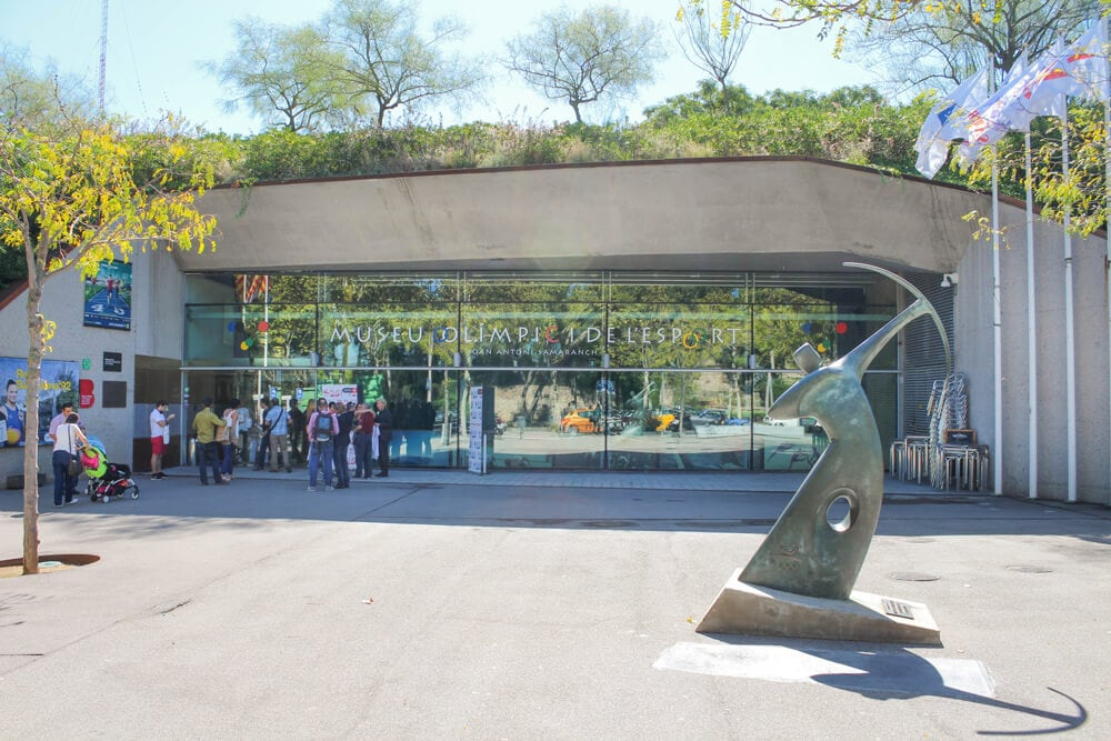 Olympisches Museum und Sportmuseum Barcelona