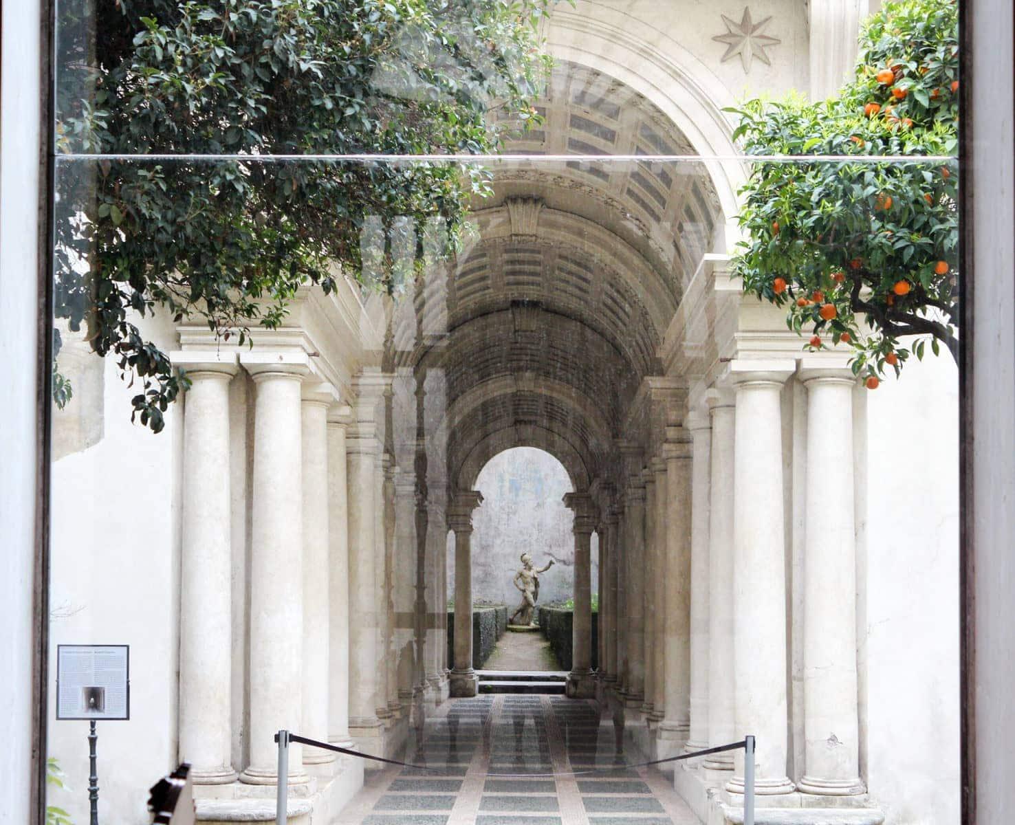 Palazzo Spada: Borrominis Perspektiven-Gang, Rom