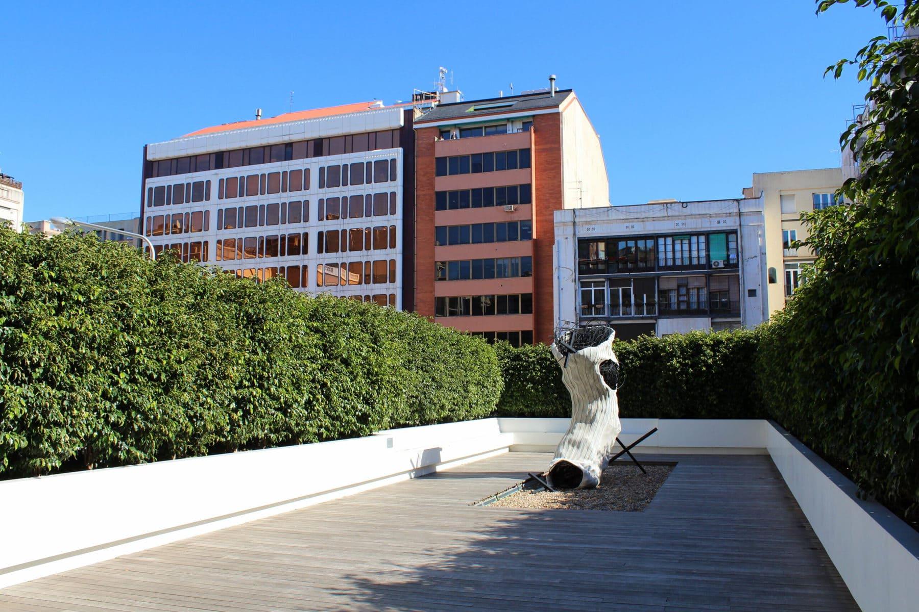 Fundació Tàpies Dachterrasse, Barcelona