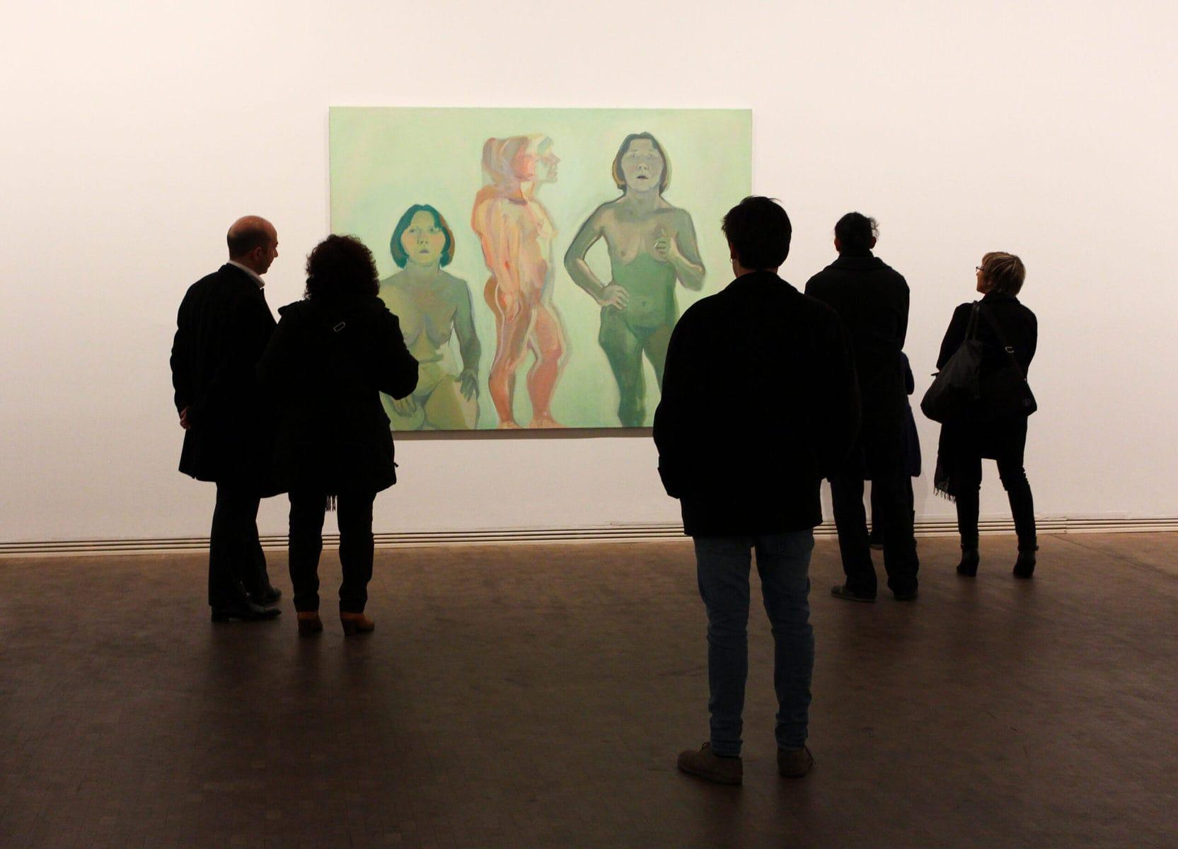 Fundació Tàpies, Barcelona: Ausstellung über Maria Lassnig