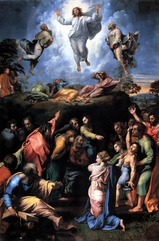 Transfiguration, Verklärung Christi, Petersdom, Rom