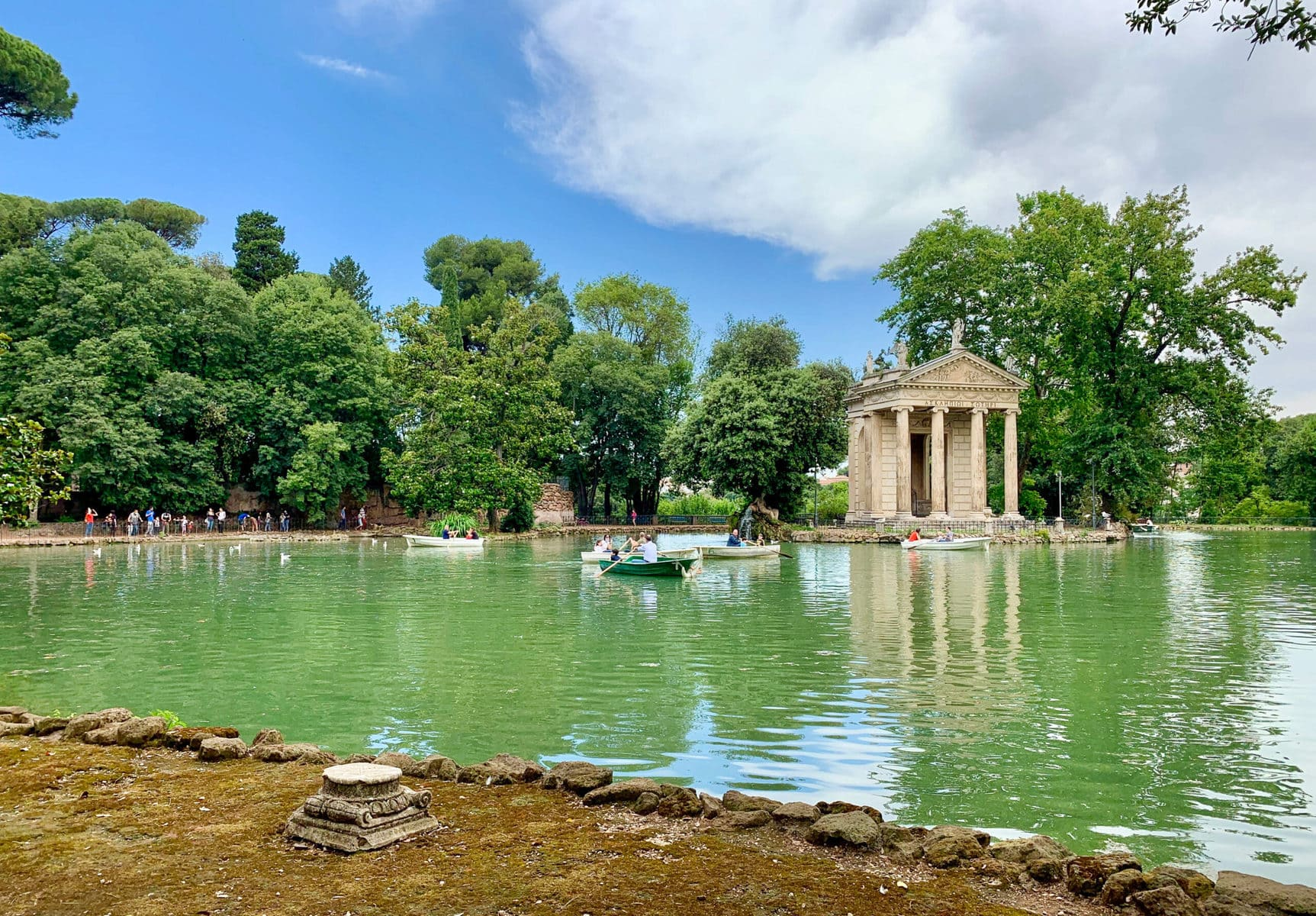 Villa Borghese Park, Rom