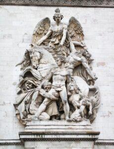 Der Widerstand, 1814, Arc de Triomphe, Paris