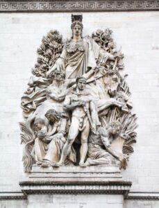 Der Frieden von 1815, Arc de Triomphe, Paris