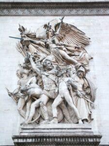 François Rude: Marseillaise, Arc de Triomphe, Paris