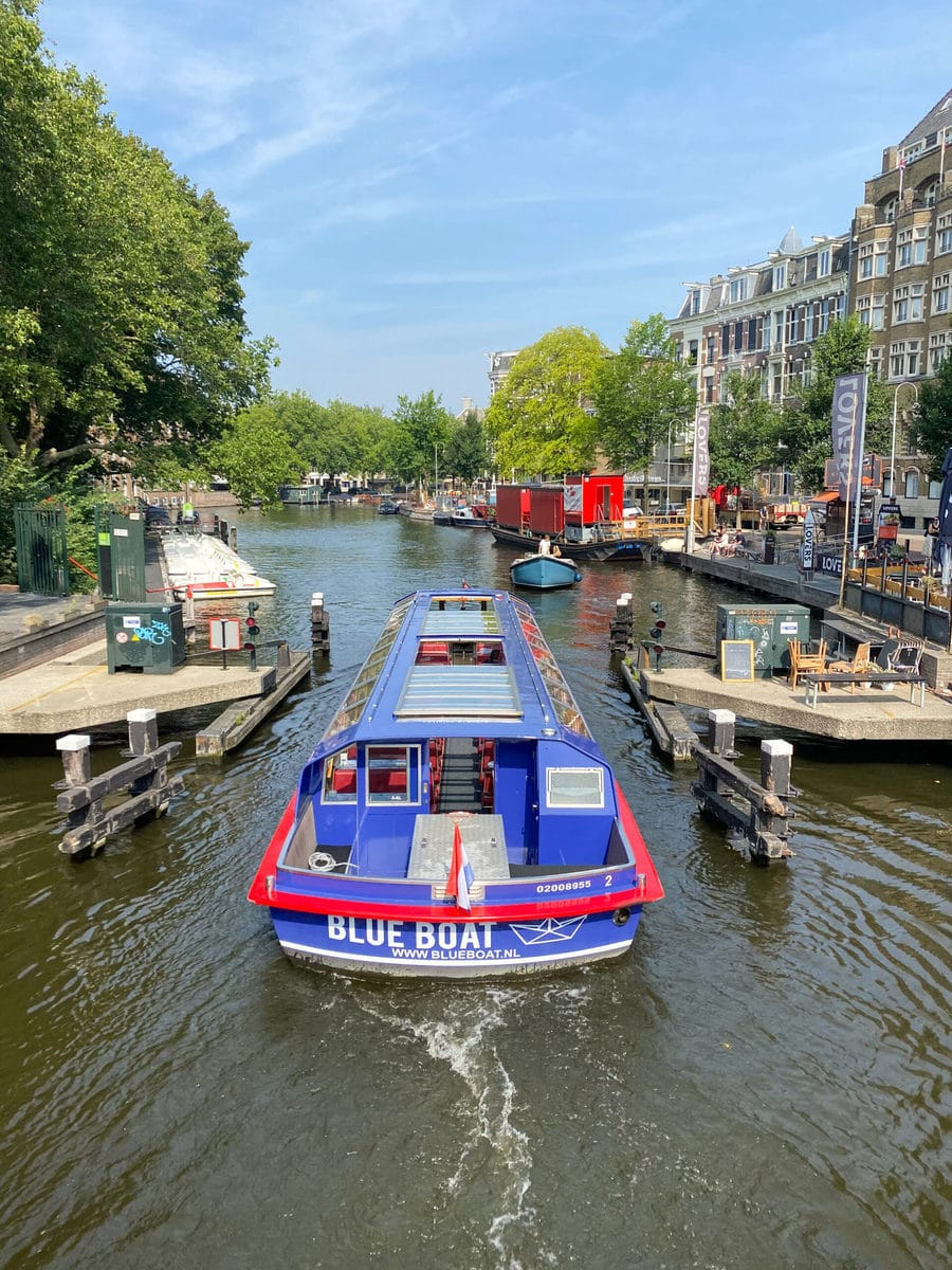 Bootstour Blueboat, Amsterdam
