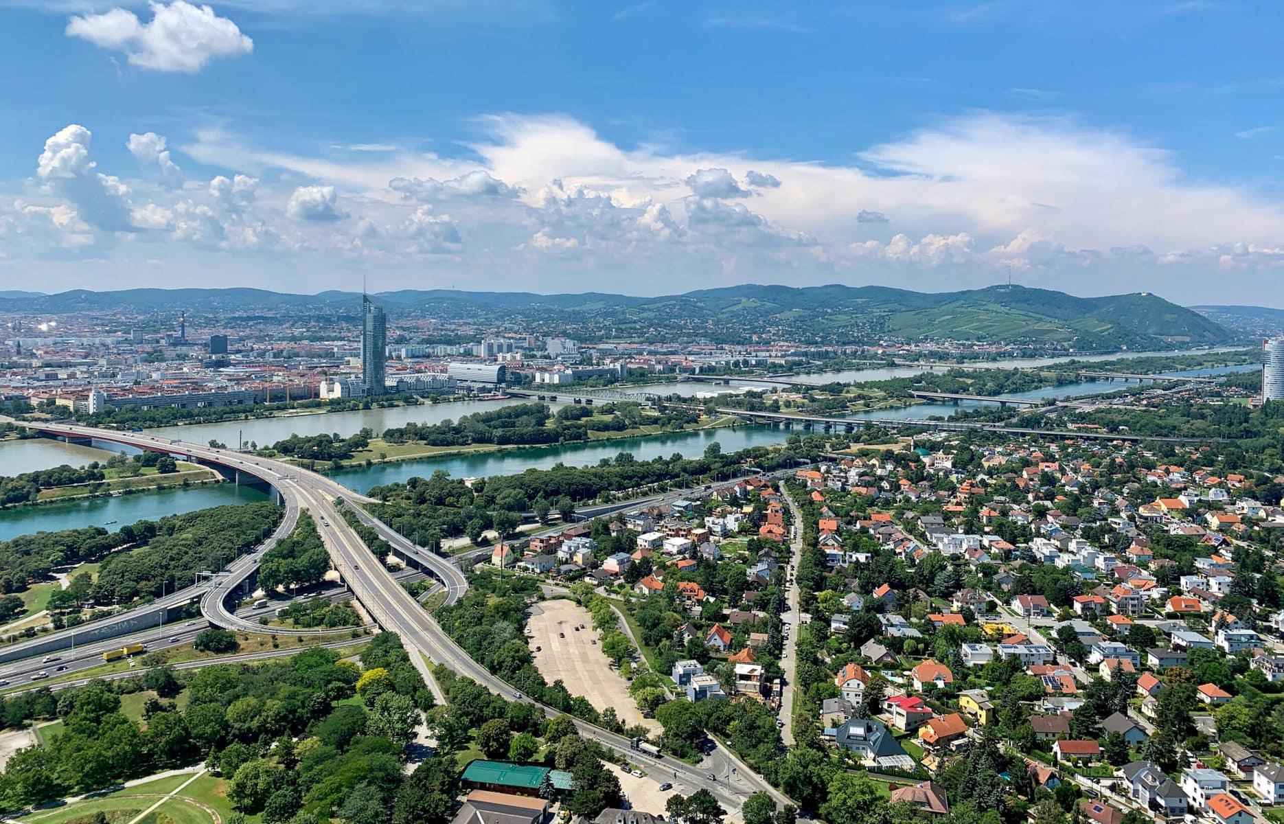 Aussicht vom Donauturm, Wien