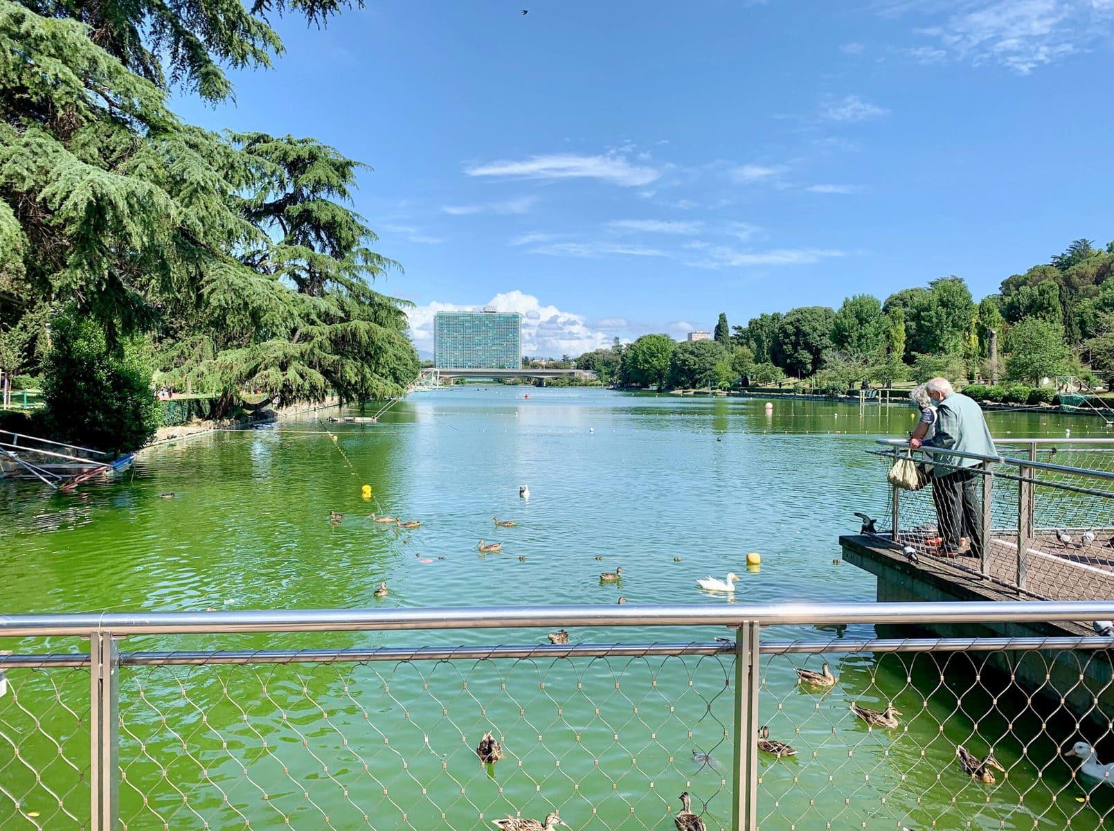 Parco al lago dell'EUR, Rom