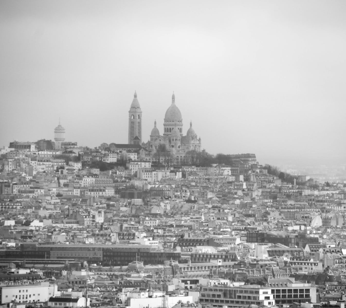 Eiffelturm Paris: Blick auf Sacré-Coeur
