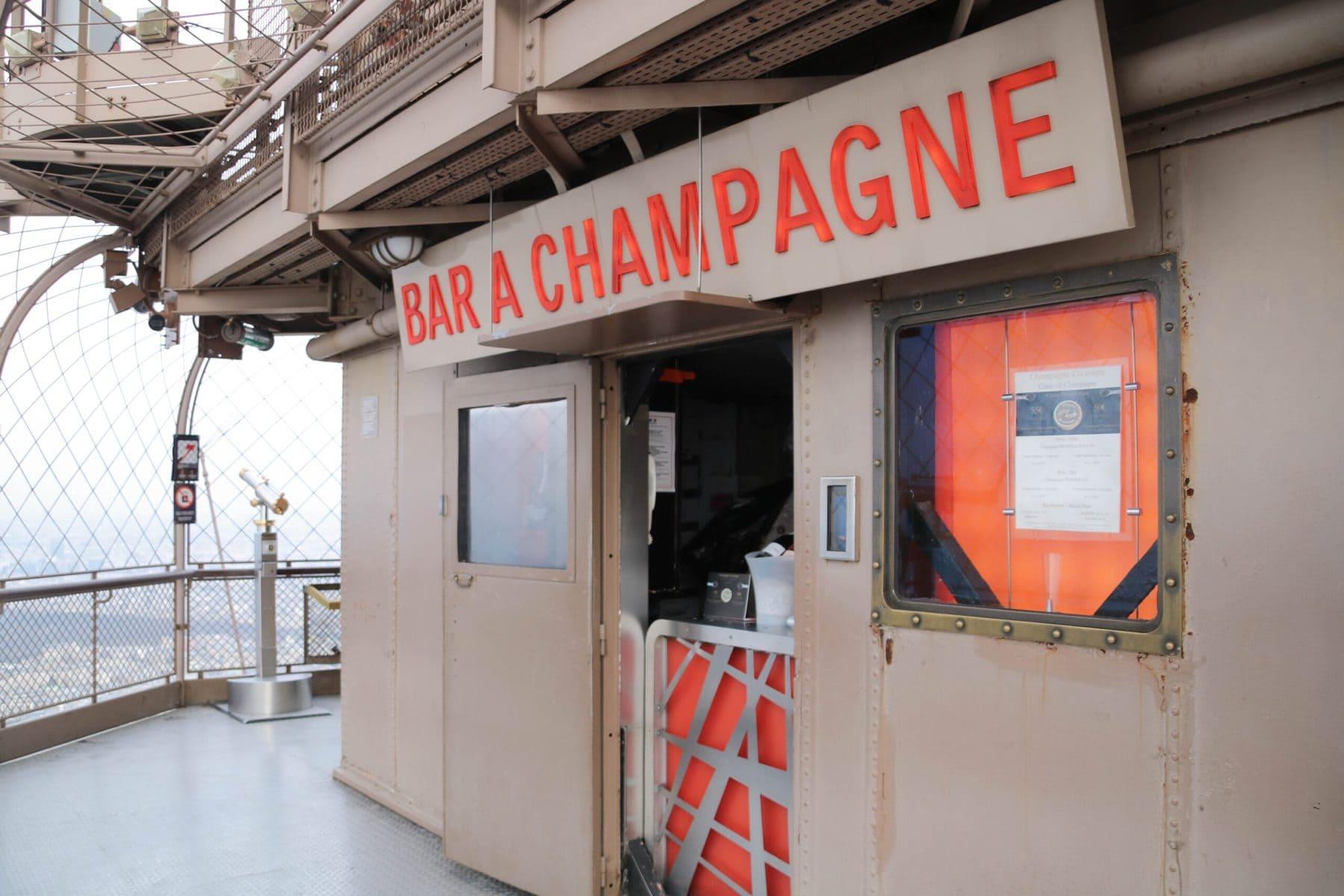 Champagnerbar, Eiffelturm, Paris