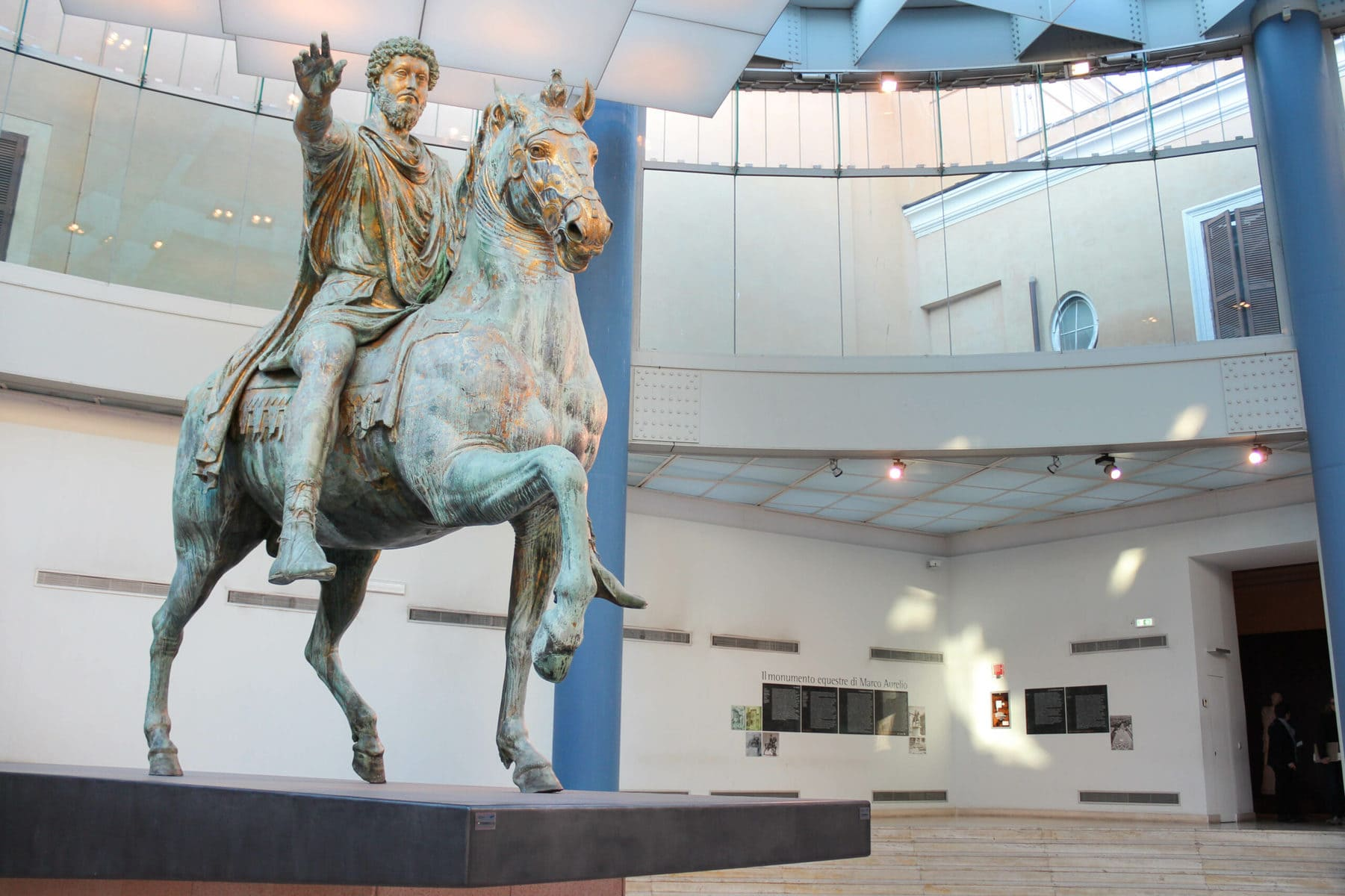 Statue des Marc Aurel, Kapitolinische Museen, Rom