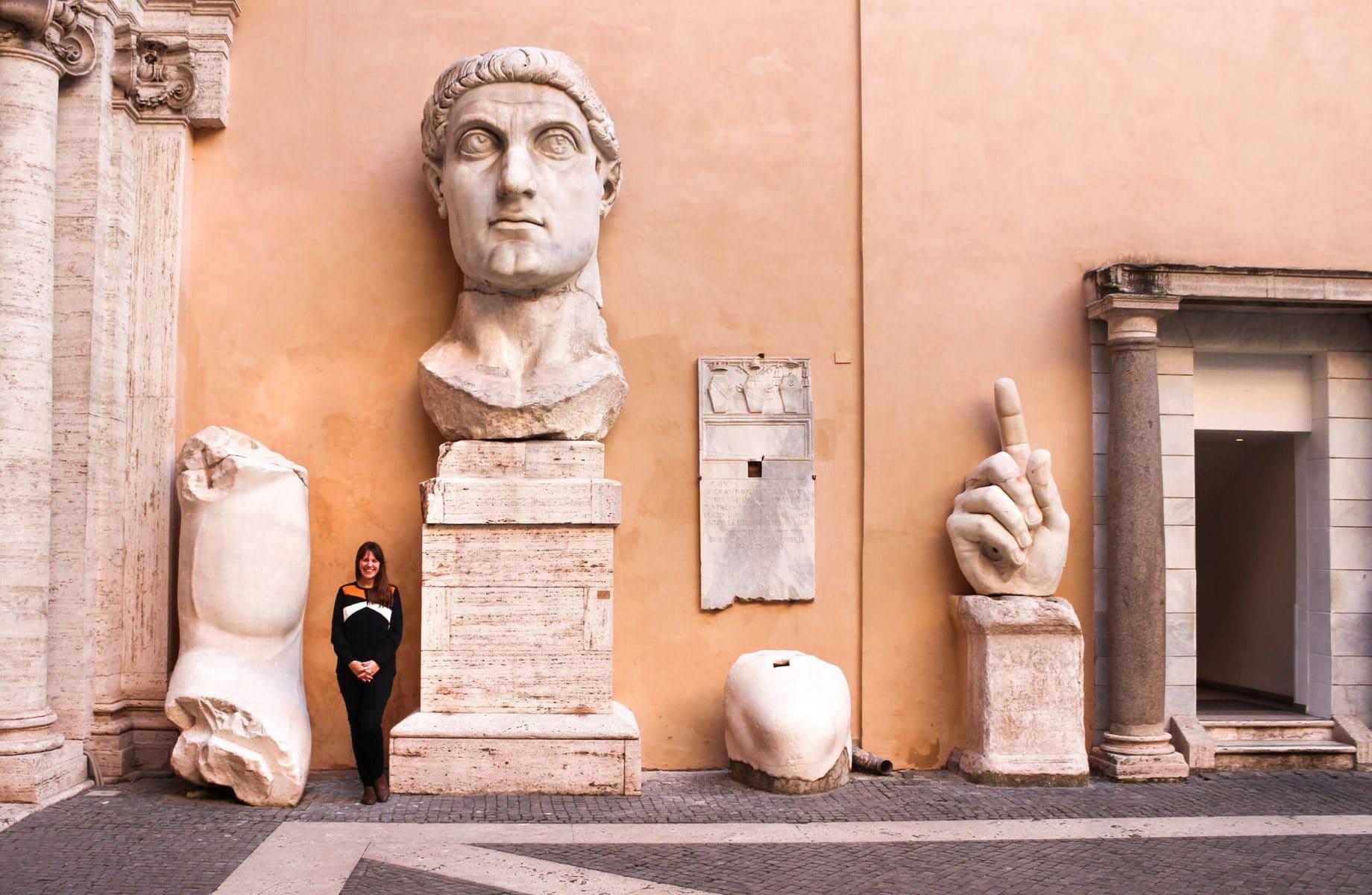 Konstantin der Große, Kapitolinische Museen, Rom