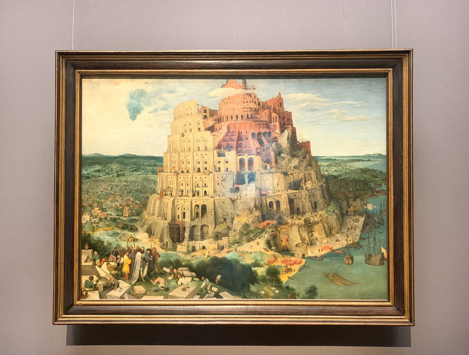Pieter Brueghel: Turmbau zu Babel, Kunsthistorisches Museum Wien