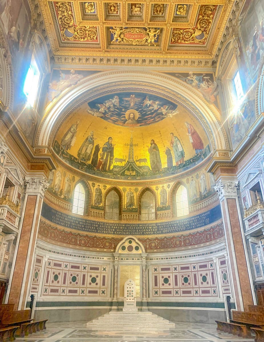 Der Lateran in Rom: Innenaufnahmen