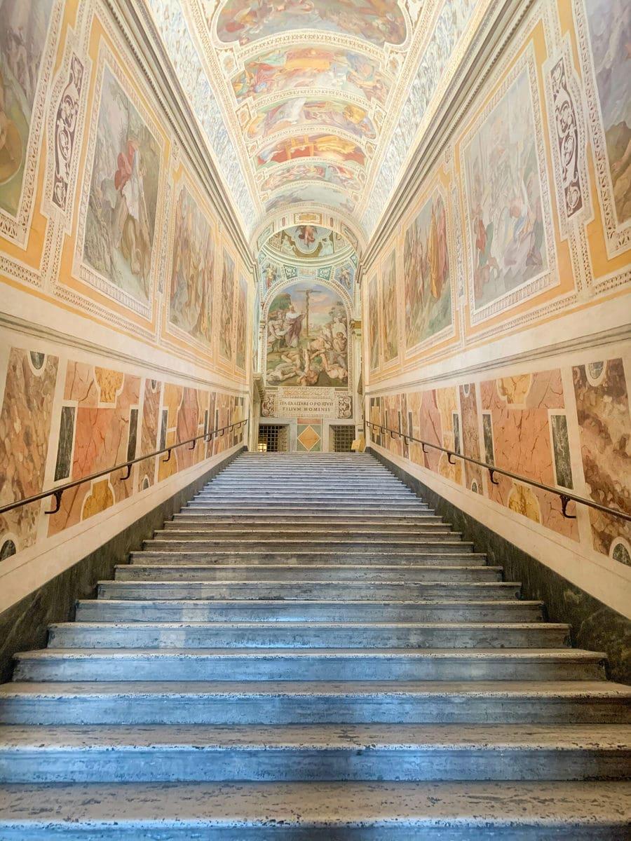 Der Lateran in Rom: Sancta Sanctorum - Heilige Treppe