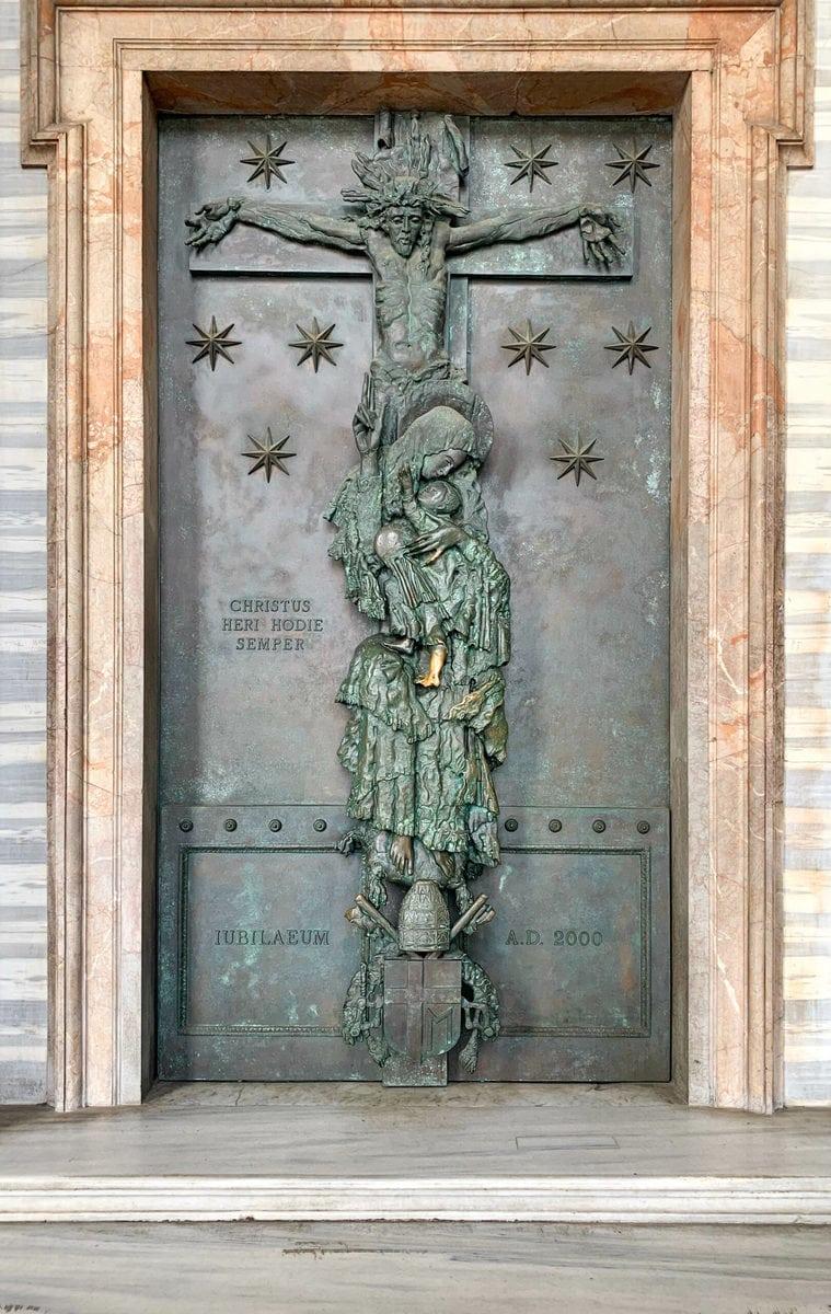 Der Lateran in Rom: Porta Santa