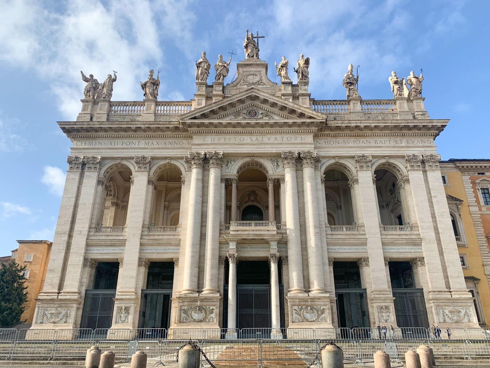 Der Lateran in Rom: Haupteingang