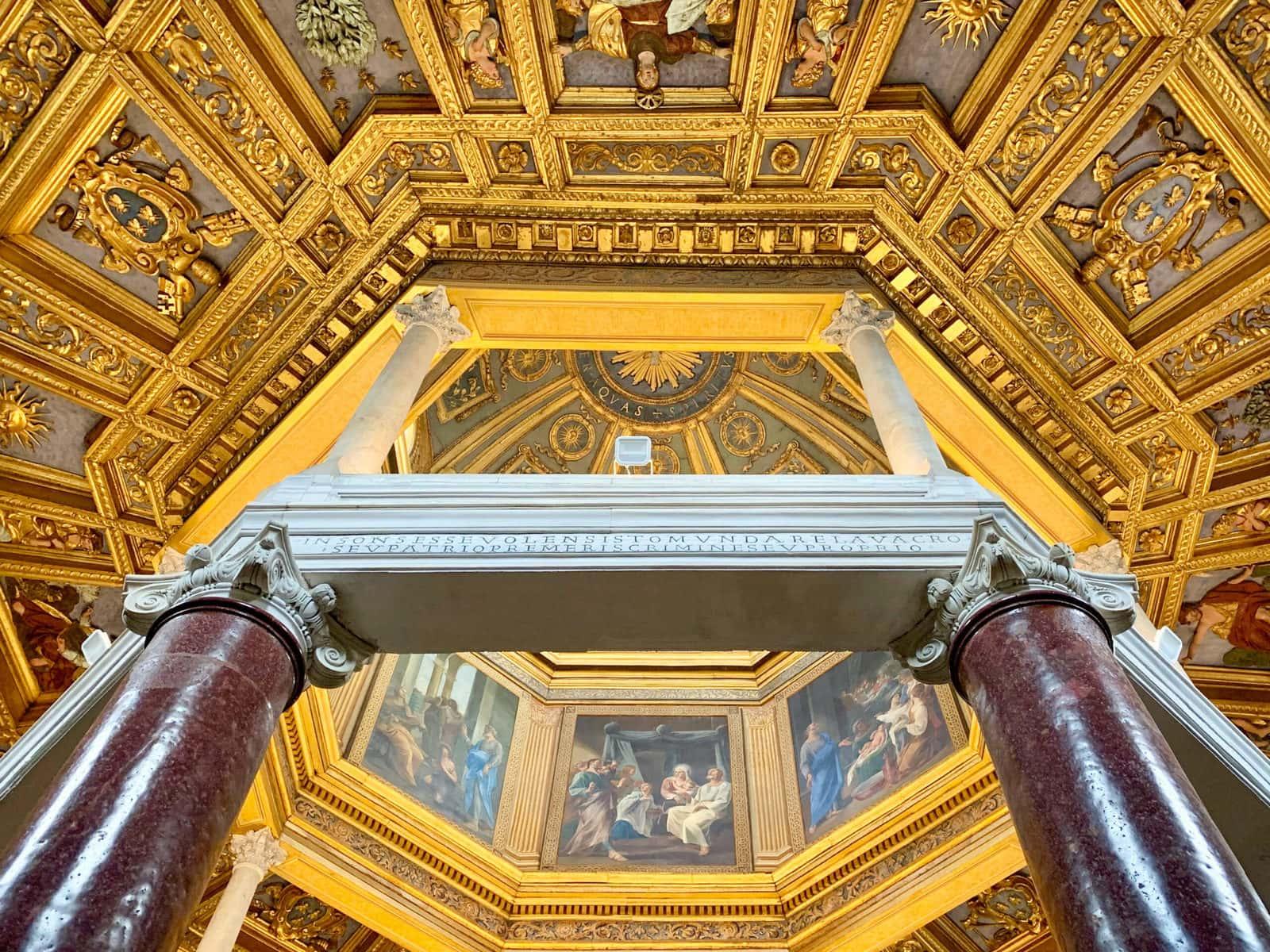 Der Lateran in Rom: Das Baptisterium