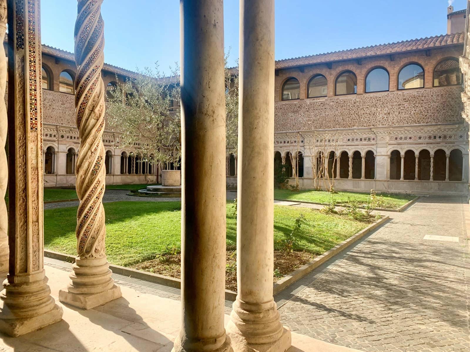 Der Lateran in Rom: Kreuzgang