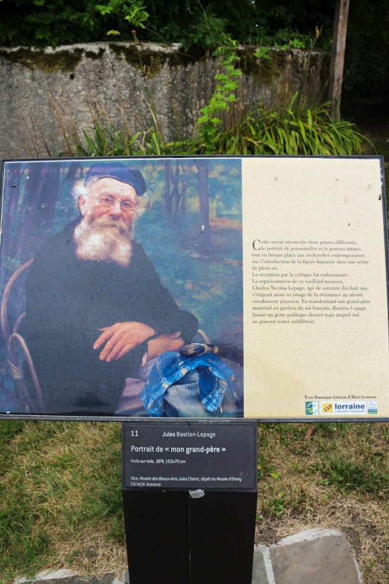 Jules Bastien-Lepage: Portrait de mon grand-père, Damvillers