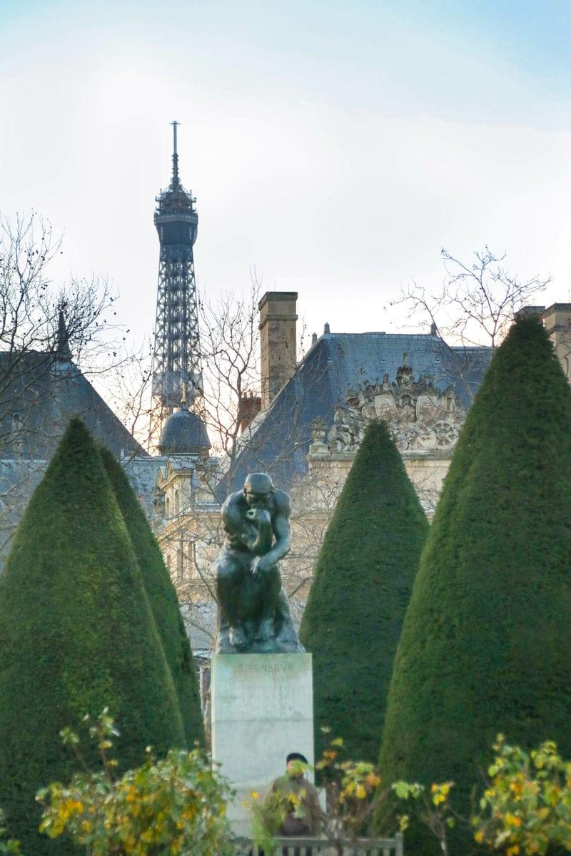Auguste Rodin: Der Denker, Musée Rodin, Paris
