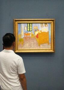 Vincent Van Gogh, Das Zimmer von Van Gogh in Arles, 1889, Öl auf Leinwand, 57,3 x 73,5 cm, Musée d'Orsay, Paris