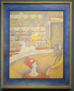 Georges Seurat, Der Zirkus, 1891, Öl auf Leinwand, 186,0 x 152,0 cm, Musée d'Orsay, Paris