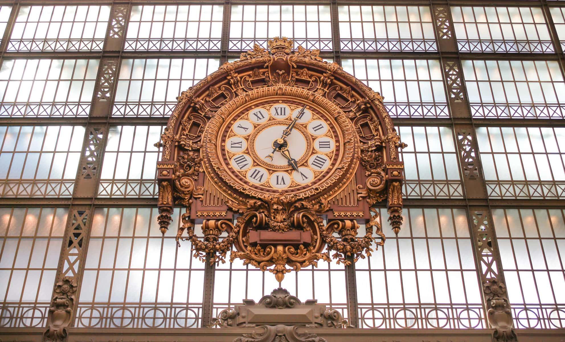 Uhr, Musée d'Orsay, Paris