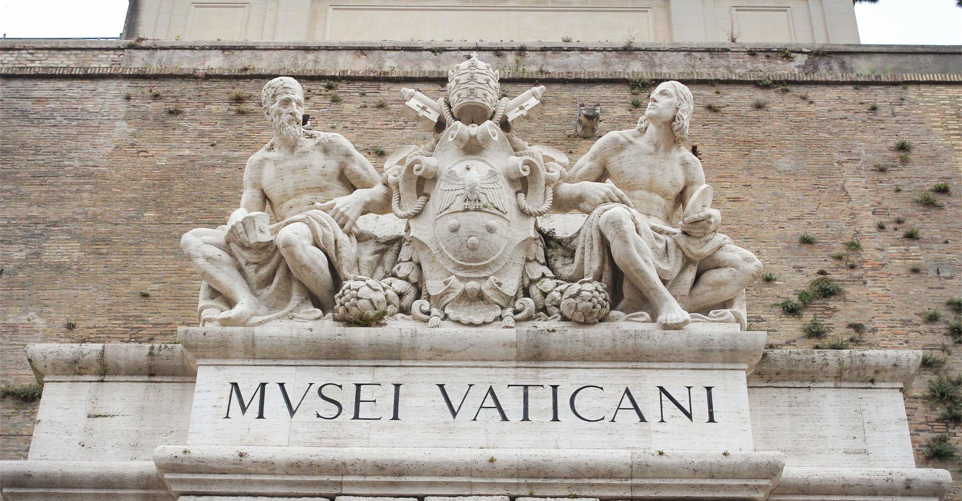 Ausgang der Vatikanischen Museen, Rom