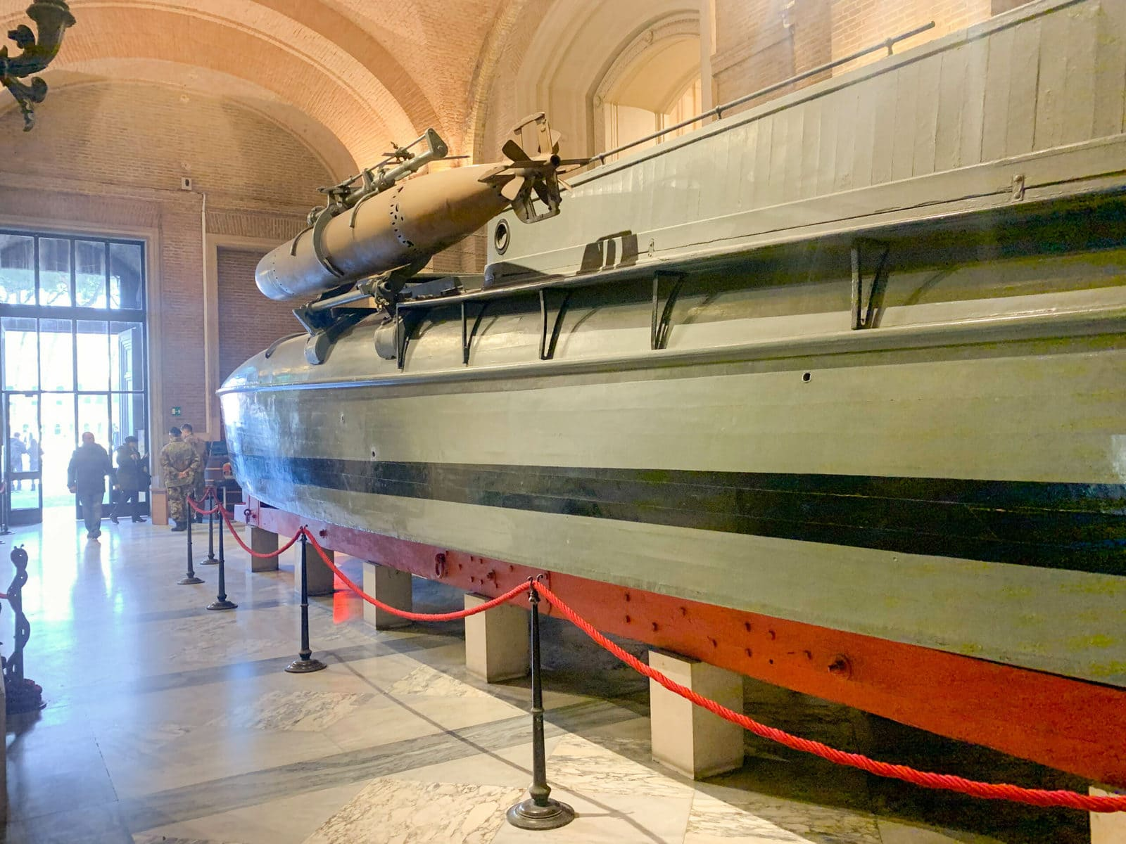 Das Nationalmuseum des Nationaldenkmals Vittorio Emanuele II., Rom