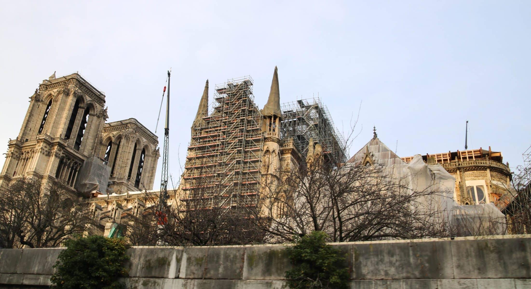 Notre Dame de Paris: Stand Dezember 2019