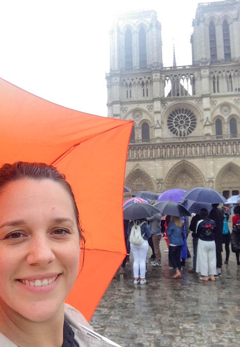 Besuch von Notre Dame de Paris 2016 - genau bei dem Jahrhundert-Hochwasser!