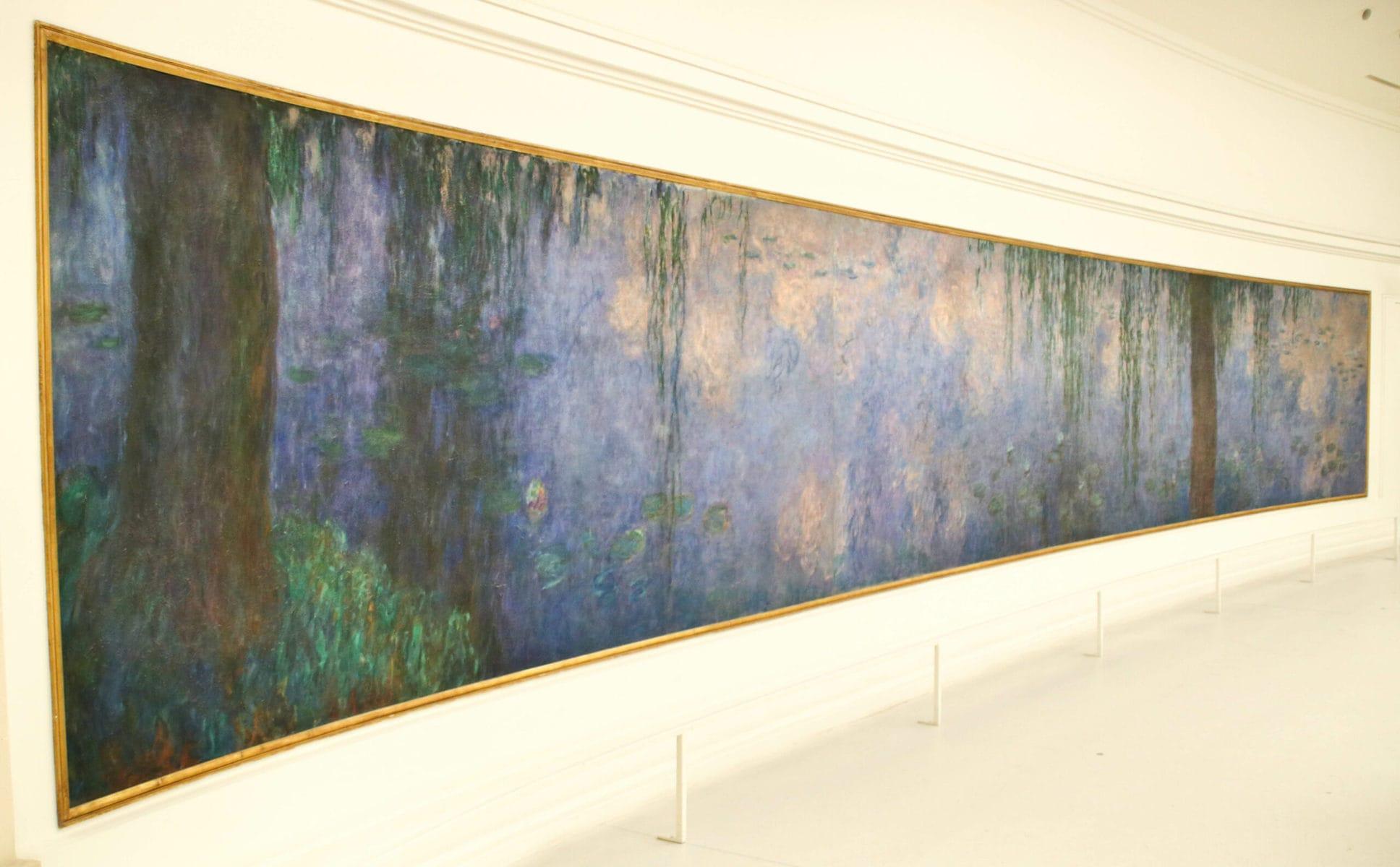 Claude Monet: Seerosengemälde, Musée de l'Orangerie, Paris