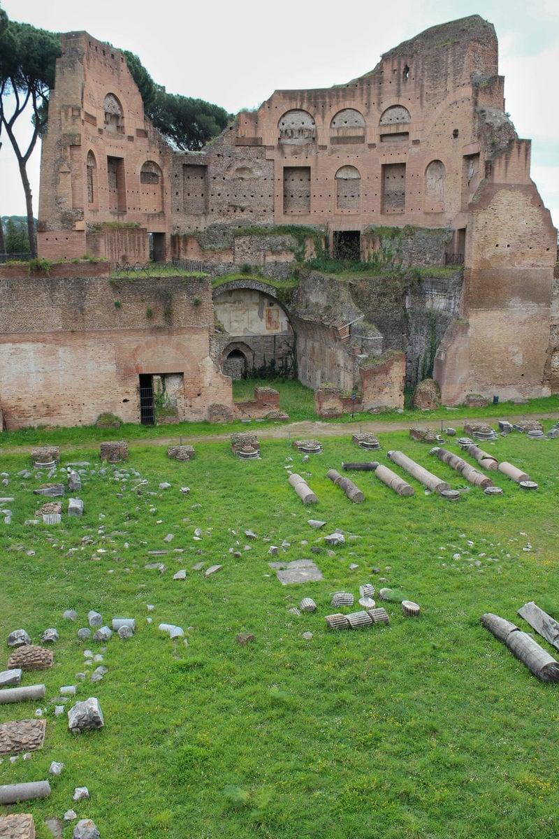 Palatin Hügel im Forum Romanum, Rom