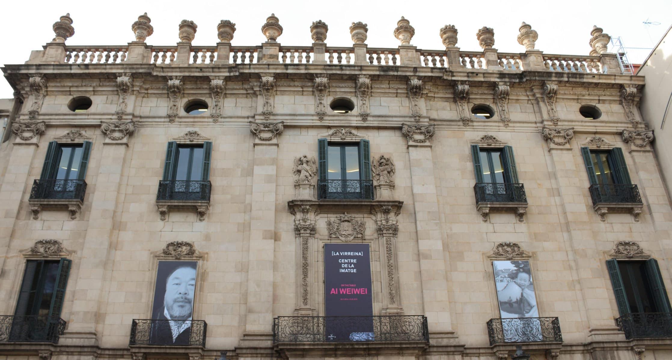 "Ausstellung: Ai Weiwei ""On the table"", Palau de la Virreina, Barcelona"