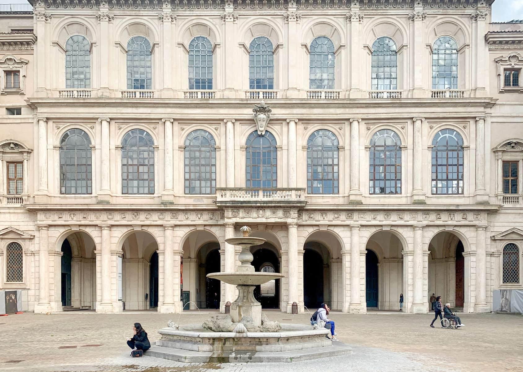 Palazzo Barberini - Galleria Nazionale d'Arte Antica, Rom