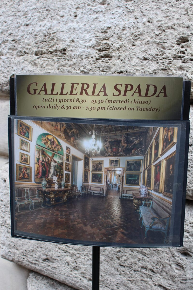 Palazzo Spada Museum, Rom