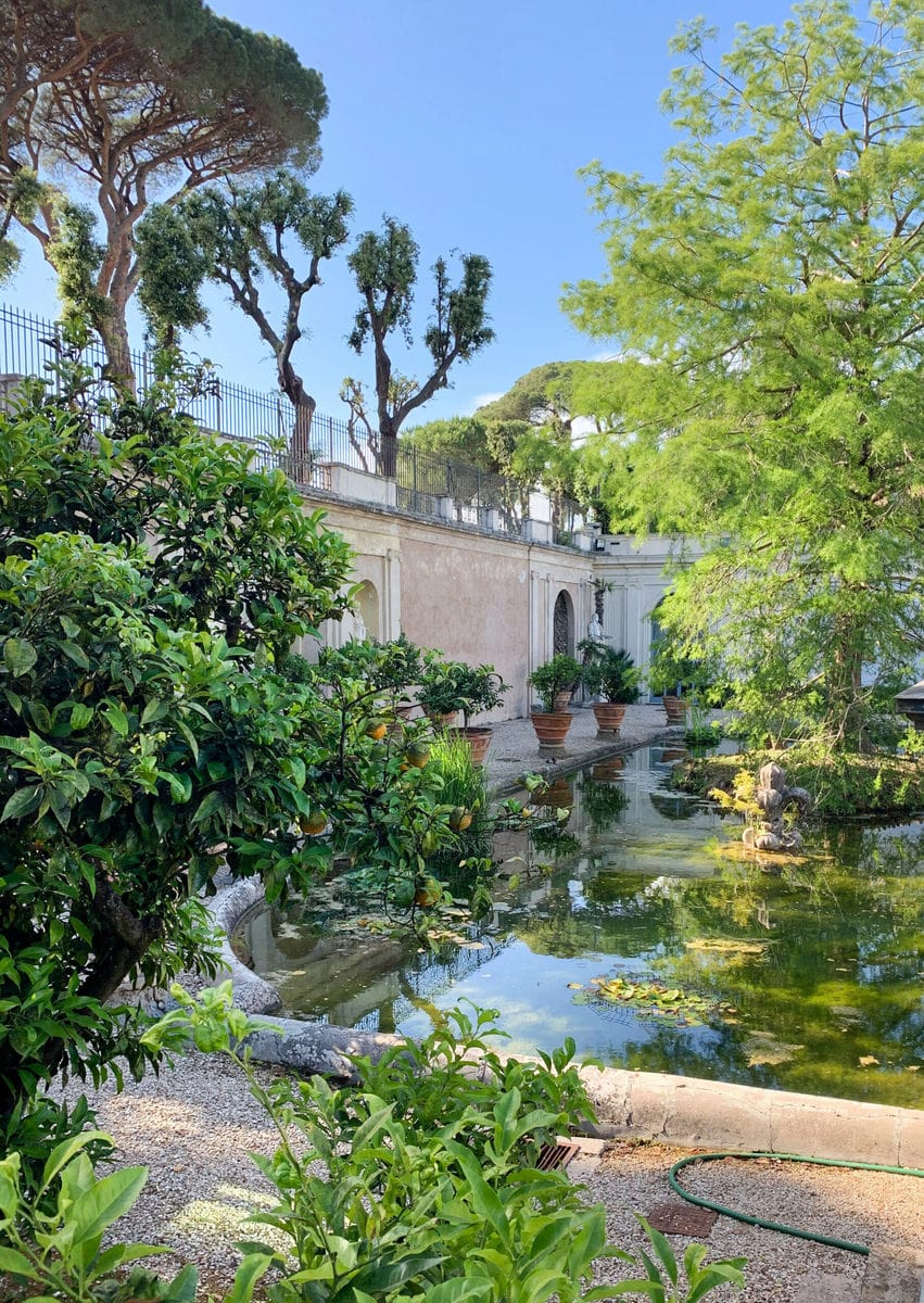 Park der Villa Pamphili, Rom