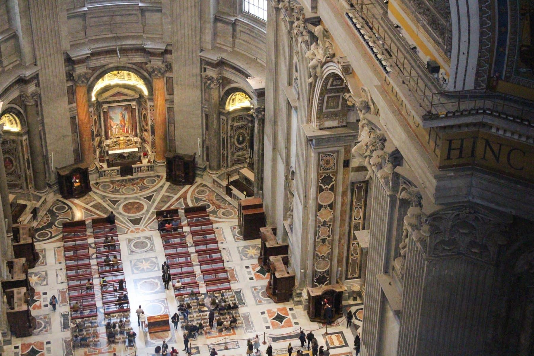 Petersdom, Rom: Aufstieg auf die Kuppel